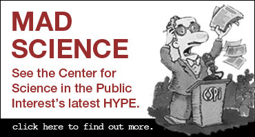 See the Center for Science in the Public Interest's latest HYPE.