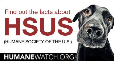 Find out the facts about HSUS (Humane Society of the US)